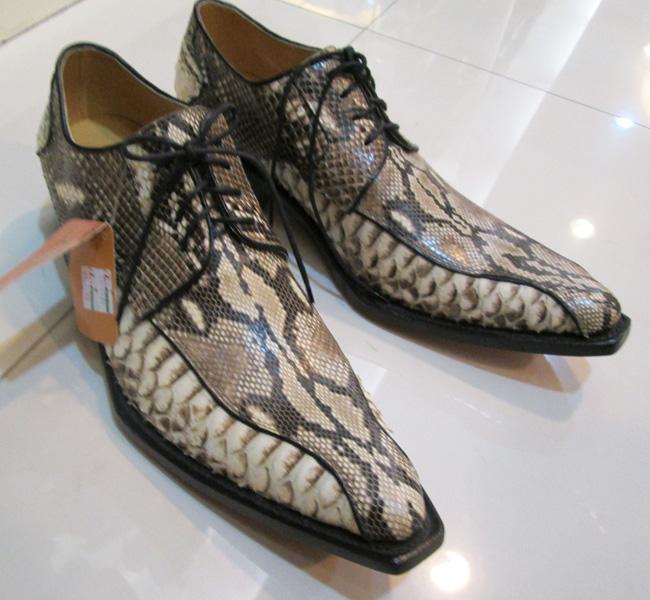 Мужская Обувь Из Экзотической Кожи