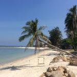 Пляж Чалоклам на острове Пханган
