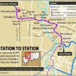 Фиолетовая линия бангкокского метро MRT построена. Запуск в следующем году.