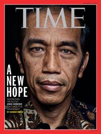 Президент Индонезии Джоко Видодо на обложке журнала Time
