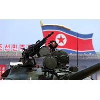 Режим чучхе в Северной Корее очень грозный в военном отношении. Поэтому его боятся трогать США и их союзники. Никто не хочет рисковать получить удар ядерной ракетой по своей территории.