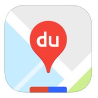 иконка для мобильного приложения baidu maps для айфонов и айпадов