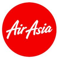 лого компании AirAsia, красный круг