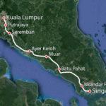 Сингапур и Куала-Лумпур соединят высокоскоростной железнодорожной магистралью