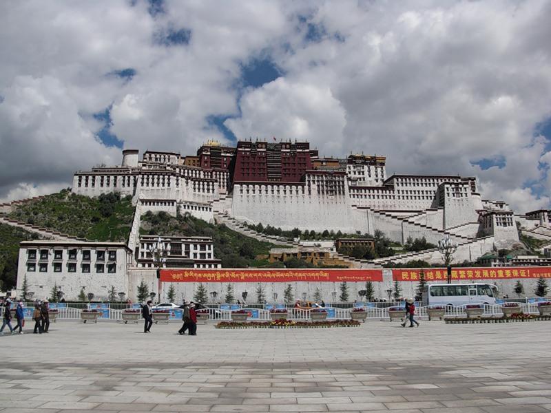 Дворец Потала, Лхаса, Тибет. Чтобы избежать горной болезни в Лхасе, нужна постепенная подготовка организма