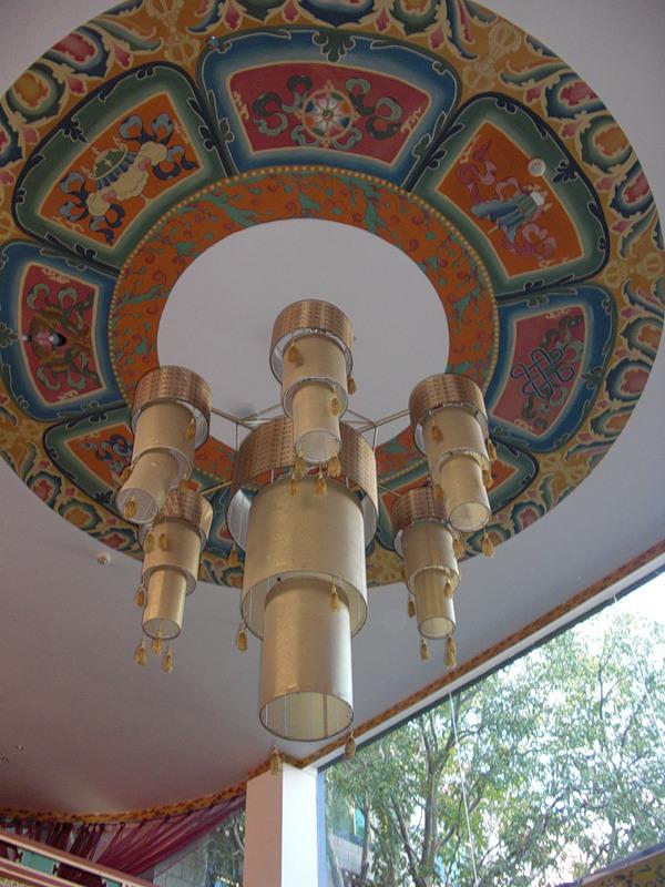 тибетской национальное оформление люстры