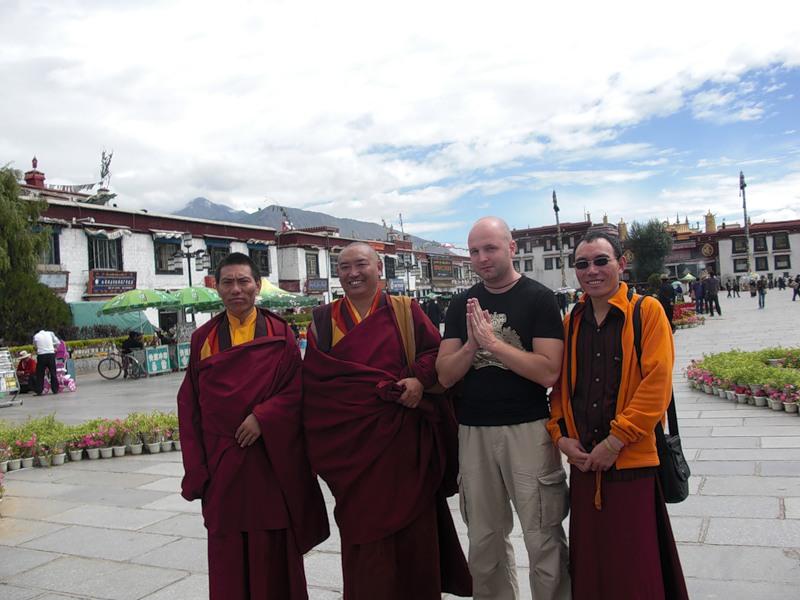 Мы - буддисты. Лхаса, Тибет.
