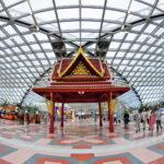 Бангкокский аэропорт Suvarnabhumi в 2012 году стал шестым по пассажирообороту в мире