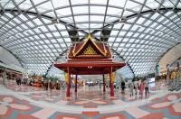 аэропорт Suvarnabhumi в столице Таиланде Бангкоке