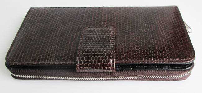 snakeskin_ladies_сlutch_wallet
