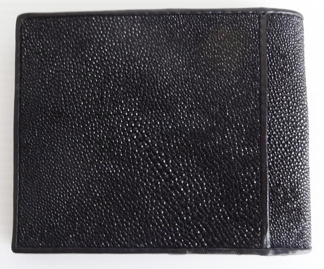 мужской кошелек из кожи скта - вид сзади