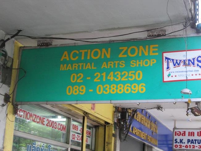 action zone bangkok