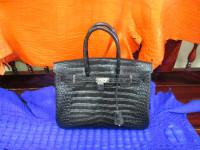Хермес сумка крокодиловая
