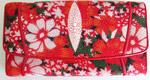 Женский кошелек из кожи морского ската, разноцветный