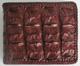 Мужской кошелек из кожи крокодила, коричневый