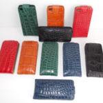 Чехлы для айфонов из кожи крокодила