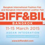 Крупная выставка моды и изделий из кожи в Бангкоке — BIFF & BIL (11-15 марта 2015)