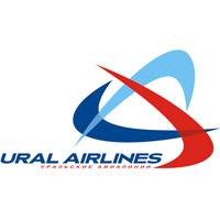 """Логотип авиакомпании """"Уральские авиалинии"""", которая назначена Росавиацией на выполнение новых авиарейсов в Бангкок через Китай"""