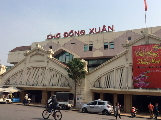 рынок Донг Суан, Ханой