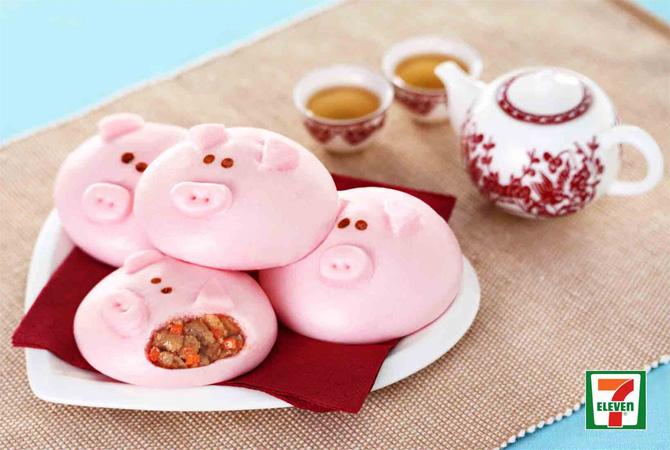 салапао с начинкой из свинины