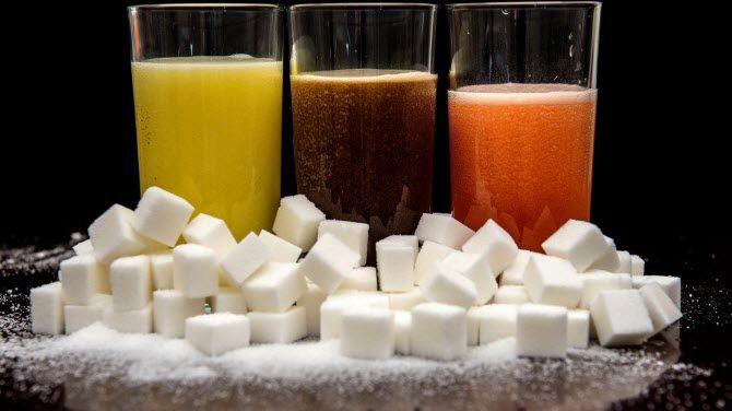 сахар в безалкогольных напитках