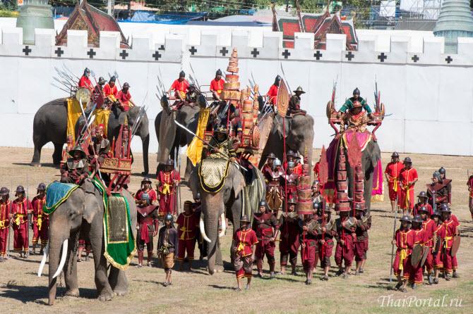 слоны во время выступлений перед публикой на фестивале демонстрируют, насколько хороши их смогли выдрессировать погонщики