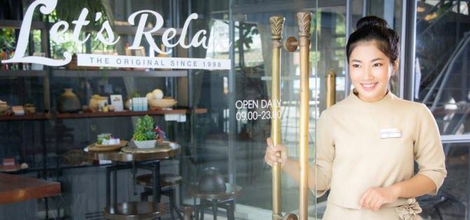 сеть массажных салонов Let's Relax очень популярна в Таиланде как среди иностранных туристов, так и среди тайцев