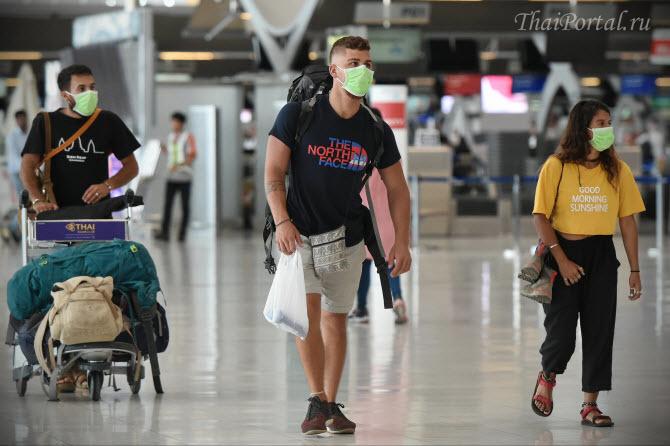 все туристы в аэропорту Суварнабхуми ходят в масках, а Сонгкран в Таиланде отменяется. Все тайцы будут сидеть по домам.