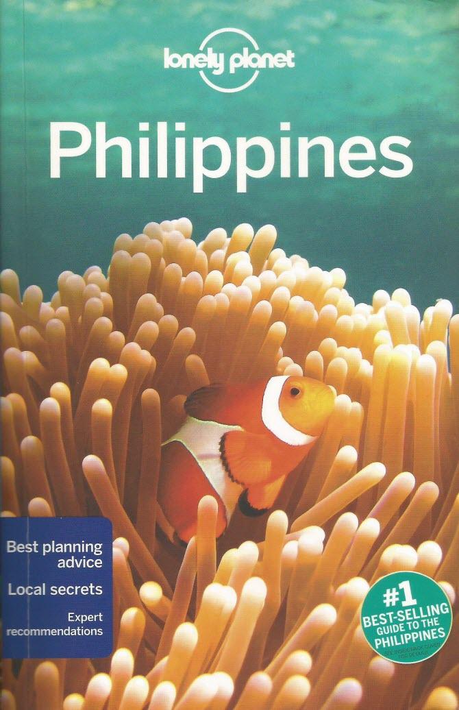 обложка travel-справочника Lonely Planet Филиппины - книга на английском языке