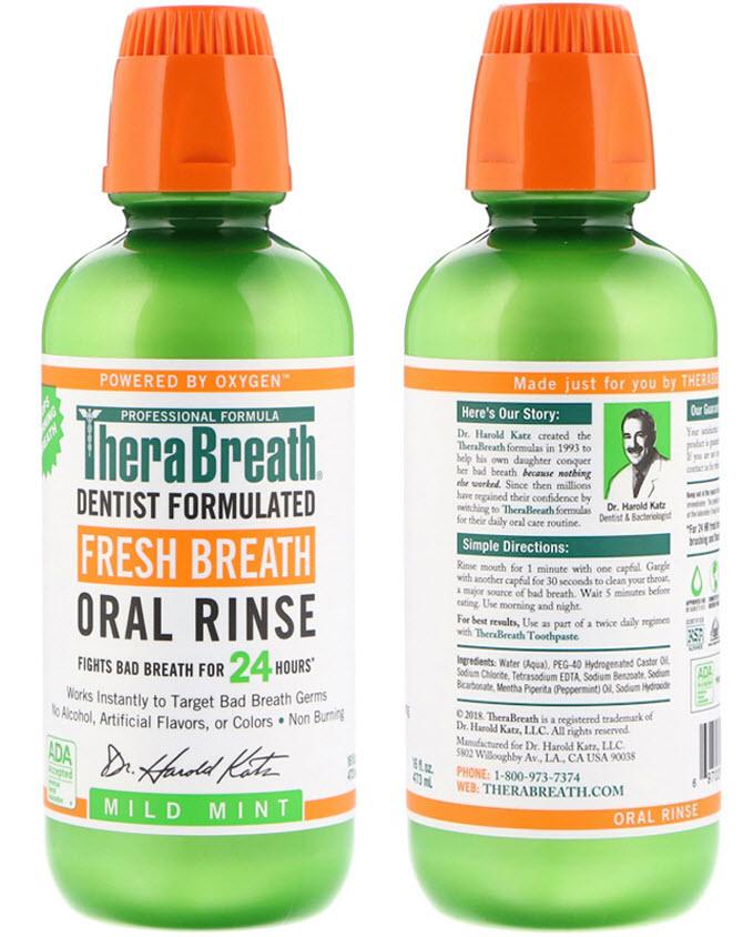 препарат для свежего дыхания Terra Breath - Терра Бриз